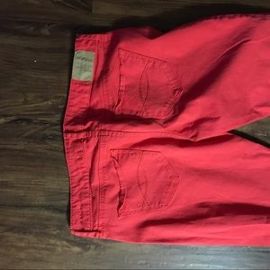 Abercrombie & Fitch coral pants